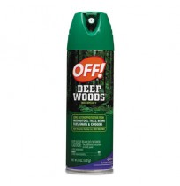 BUG SPRAY BUG SPRAY - Deep Woods OFF!, 6 oz Aerosol Can, UnscentedOFF!  Deep Woods OFF!C-OFF! DEEP W