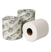 TOILET PAPER TOILET PAPER - EcoSoft Green Seal Universal Bathroom Tissue, 1-Ply, 1000 Sheets/RollWau