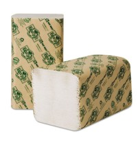 Paper Towels Paper Towels - Wausau Paper  EcoSoft  Folded TowelsPPR TWL,SFOLD,9X10,NLWEEcoSoft Green