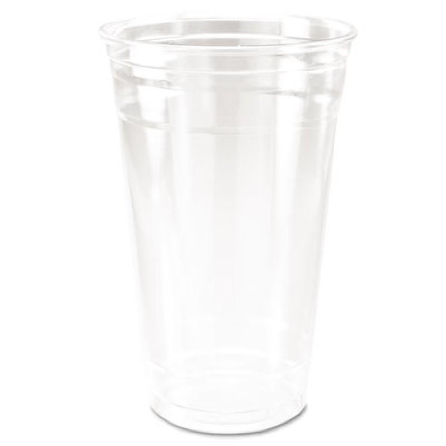 PLASTIC CUPS PLASTIC CUPS - Conex Clear Plastic Cup, Cold, 24 oz., 50/BagDart  Conex  Clear Cold Cup