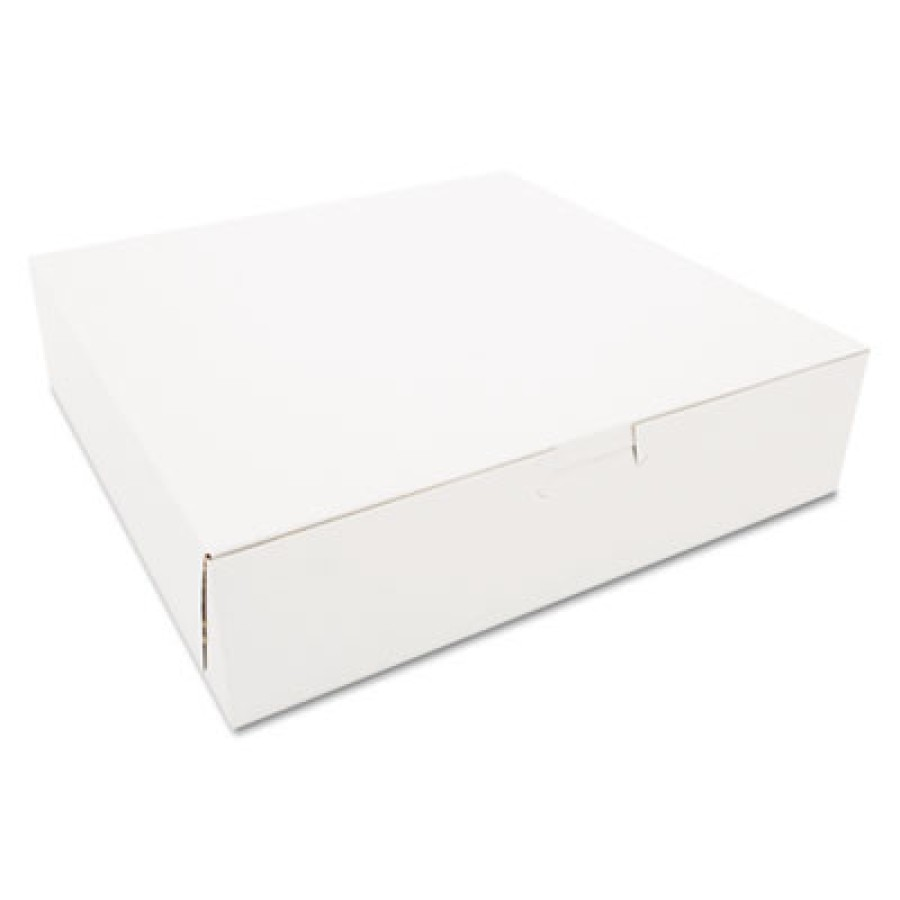 Bakery Box Bakery Box - SCT  Tuck-Top Bakery BoxesB-BOX,10X10X2.5,WETuck-Top Bakery Boxes, 10w x 10d