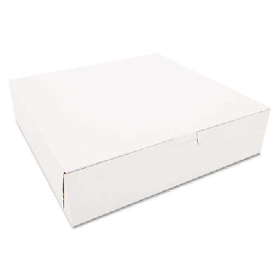 Bakery Box Bakery Box - SCT  Tuck-Top Bakery BoxesB-BOX,10X10X2.5,WETuck-Top Bakery Boxes, 10w x 10d