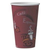 PAPER CUP | PAPER CUP | 20/50'S - C-PPR HOT CUP 16OZ BISTR O 20/50CUP,