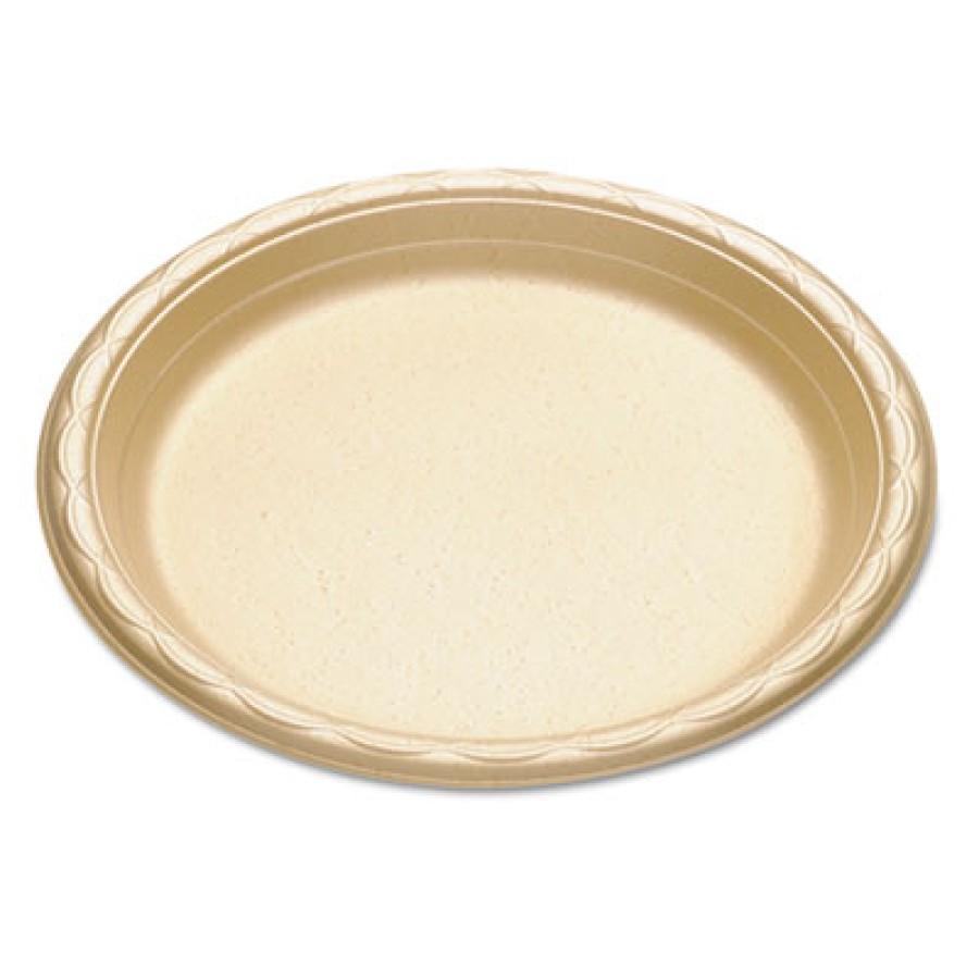 FOAM PLATES FOAM PLATES - enviroware Foam Dinnerware, Plate, 9 , WheatFoam dinnerware.ENVIROWARE FOA
