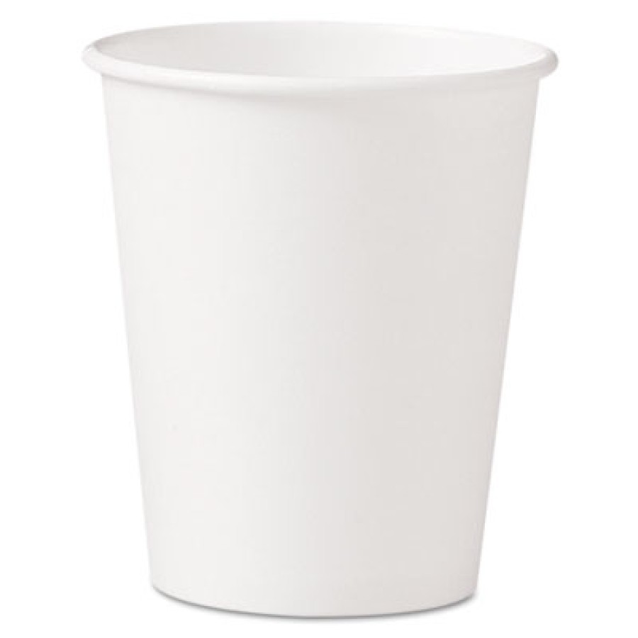 PAPER CUP | PAPER CUP | 20/50'S - C-PPR HOT CUP 10OZ WHI  20/50PPR CUP