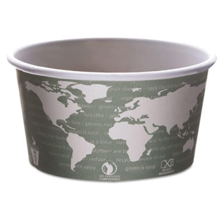 PAPER CUP | PAPER CUP | 500/CS - C-BIOD PPR SOUP CUP 12OZ  WORLD ART 5