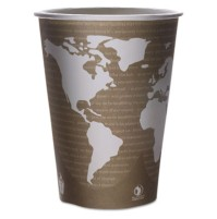 PAPER CUP | PAPER CUP | 500/CS - C-32 OZ ECO SOUP CUP WORLD ART DESIGN