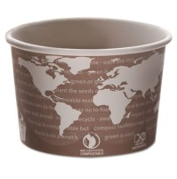 PAPER CUP | PAPER CUP | 1000/CS - C-BIOD PPR SOUP CUP 8OZ  WORLD ART 1