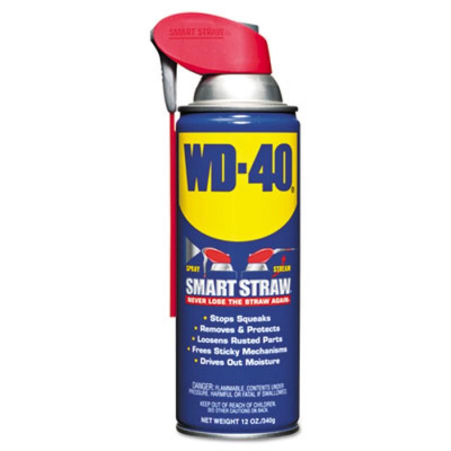 Wd40 Wd40 - WD-40  Smart Straw  Spray LubricantLUBE,SMART STRAW, 12OZSmart Straw Spray Lubricant, 12