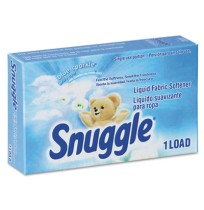 Fabric Softener Fabric Softener - Snuggle  Liquid Fabric Softener - Vend PackSNUGGLE FAB SOFT,1.5OZL
