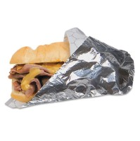Sandwich Wrap Sandwich Wrap - Bagcraft Papercon  Honeycomb Insulated WrapFOIL WRAP,14X16Honeycomb In