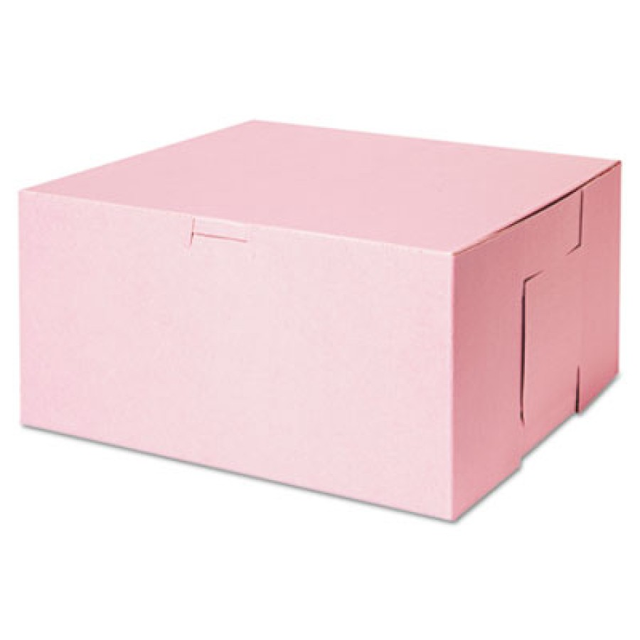 Bakery Box Bakery Box - SCT  Tuck-Top Bakery BoxesB-BOX,10X10X5,PKTuck-Top Bakery Boxes, 10w x 10d x