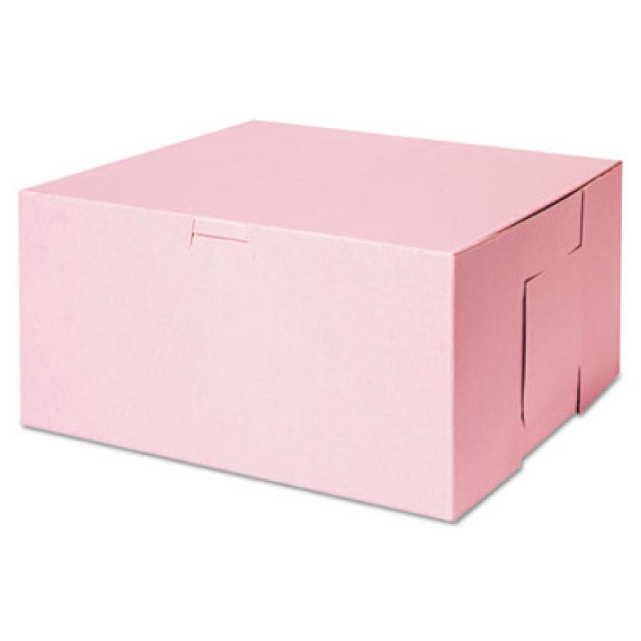 Bakery Box Bakery Box - SCT  Tuck-Top Bakery BoxesB-BOX,10X10X5,PKTuck-Top Bakery Boxes, 10w x 10d x
