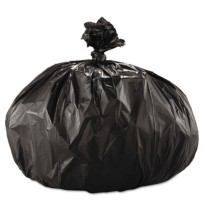 GARBAGE BAGS GARBAGE BAGS - Super Extra-Heavy Grade Can Liners, 43 x 47, 2.0 Mil, 60-Gallon, BlackBo