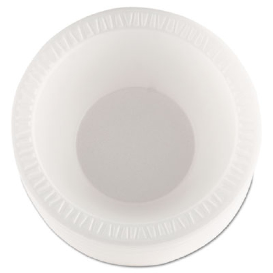 FOAM BOWLS FOAM BOWLS - Concorde Foam Bowl, 10-12 oz, WhiteDart  Concorde  Non-Laminated Foam Dinner