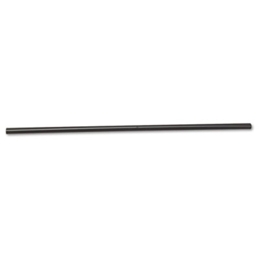 "STRAWS STRAWS - Unwrapped Jumbo Straws, 7 3/4"", Plastic, BlackBoardwalk  Unwrapped Jumbo StrawsC-JUM"