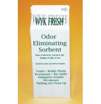 SORBENT POWDER SORBENT POWDER - WYK Fresh1/2 gallon shaker carton.  ODOR ELIMINATING SORBENT.  SAFE