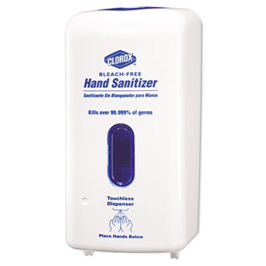 Hand Sanitizer Hand Sanitizer - Clorox  No-Touch Hand Sanitizer DispenserDSPNSR,HND SANITZR,WHTNo-To