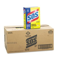 Dishwashing Soap Dishwashing Soap - S.O.S  Steel Wool Soap PadPAD,SOS,SPNGSteel Wool Soap PadC-S.O.S