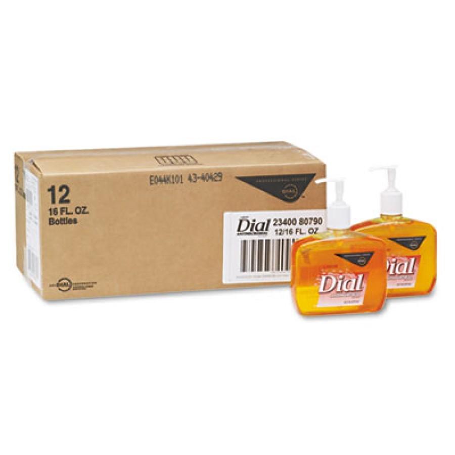 HAND SOAP HAND SOAP - Liquid Gold Antimicrobial Soap, Floral Fragrance, 16 oz Pump BottleLiquid Dial