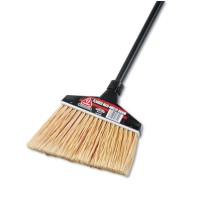 "ANGLE BROOM ANGLE BROOM - Maxi-Angler Broom, Polystyrene Bristles, 51"" Handle, BlackO-Cedar  Commerc"