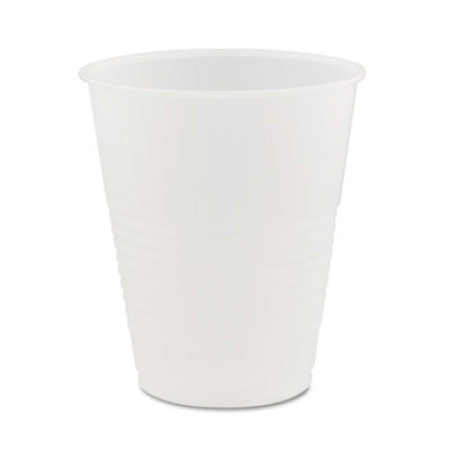 PLASTIC CUPS PLASTIC CUPS - Conex Translucent Plastic Cold Cups, 12 ozDart  Conex  Translucent Plast