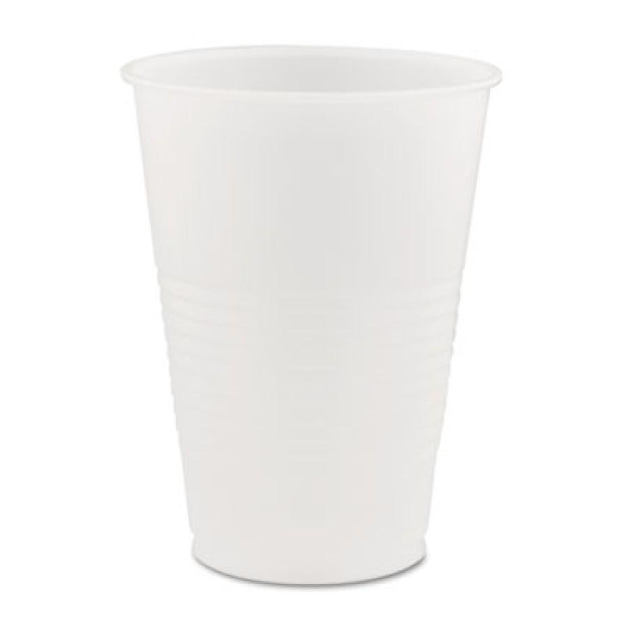 PLASTIC CUPS PLASTIC CUPS - Conex Translucent Plastic Cold Cups, 14 ozDart  Conex  Translucent Plast