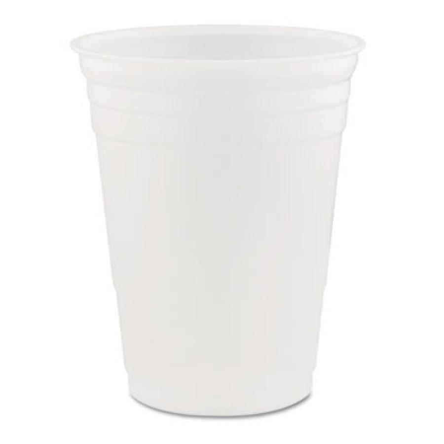 PLASTIC CUPS PLASTIC CUPS - Conex Translucent Plastic Cold Cups, 16 ozDart  Conex  Translucent Plast