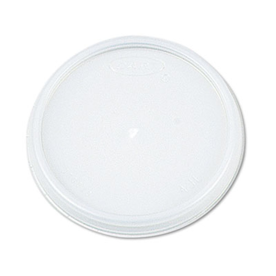 SOUP CUP LIDS SOUP CUP LIDS - Plastic Lids, For 8, 12, 16oz Foam Food Containers/5, 6, 8, 10oz Bowls