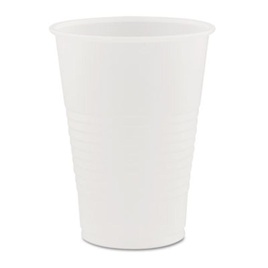 PLASTIC CUPS PLASTIC CUPS - Conex Translucent Plastic Cold Cups, 7 ozDart  Conex  Translucent Plasti