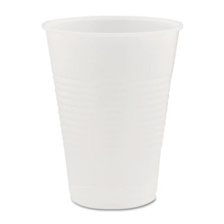PLASTIC CUPS PLASTIC CUPS - Conex Translucent Plastic Cold Cups, 9 ozDart  Conex  Translucent Plasti
