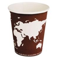 PAPER CUP | PAPER CUP | 1000/CS - C-8 OZ WORLD ART ECO HOT CUP 1000/CA