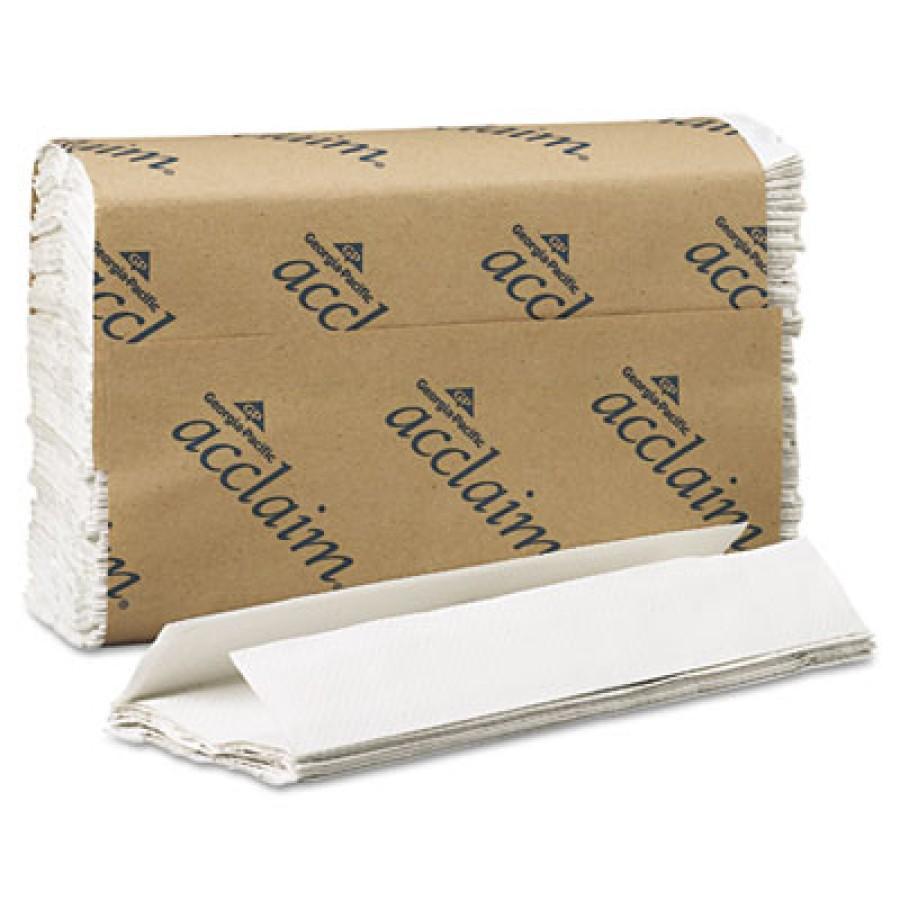 Paper Towel Paper Towel - acclaim  Folded Paper TowelsTOWEL,CFOLD,WEC-Fold Paper Towels, 10-1/4x13-1