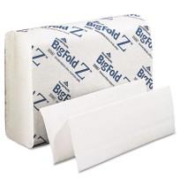 Paper Towel Paper Towel - BigFold  Paper TowelsTOWEL,BIGFLD Z,220/PK,WEZ Paper Towels, 8 x 11, White