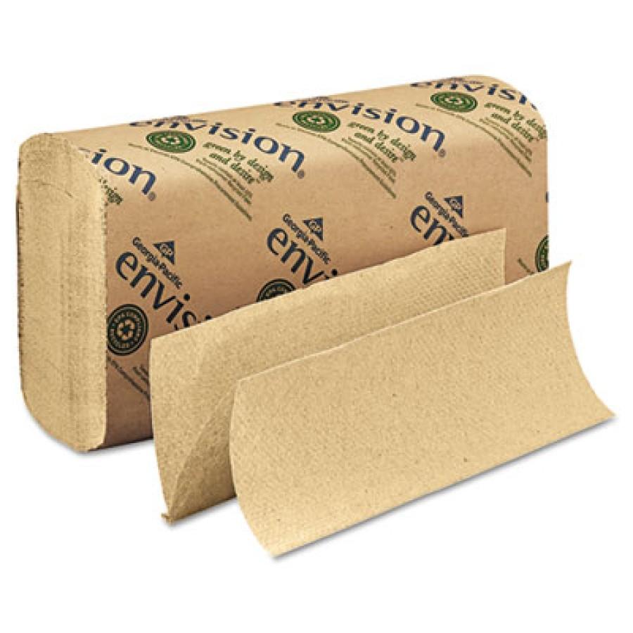 Paper Towel Paper Towel - envision  Folded Paper TowelsTOWEL,MULTIFLD,BNMultifold Paper Towel, 9-1/5