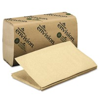 Paper Towel Paper Towel - envision  Folded Paper TowelsTOWEL,SNGLFLD,BN1-Fold Paper Towel, 10-1/4 x