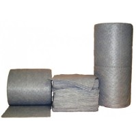 "ABSORBENT ROLL ABSORBENT ROLL - Sonic Bonded Perforated roll 150' X 30""Universal roll:  30? X 150? ("