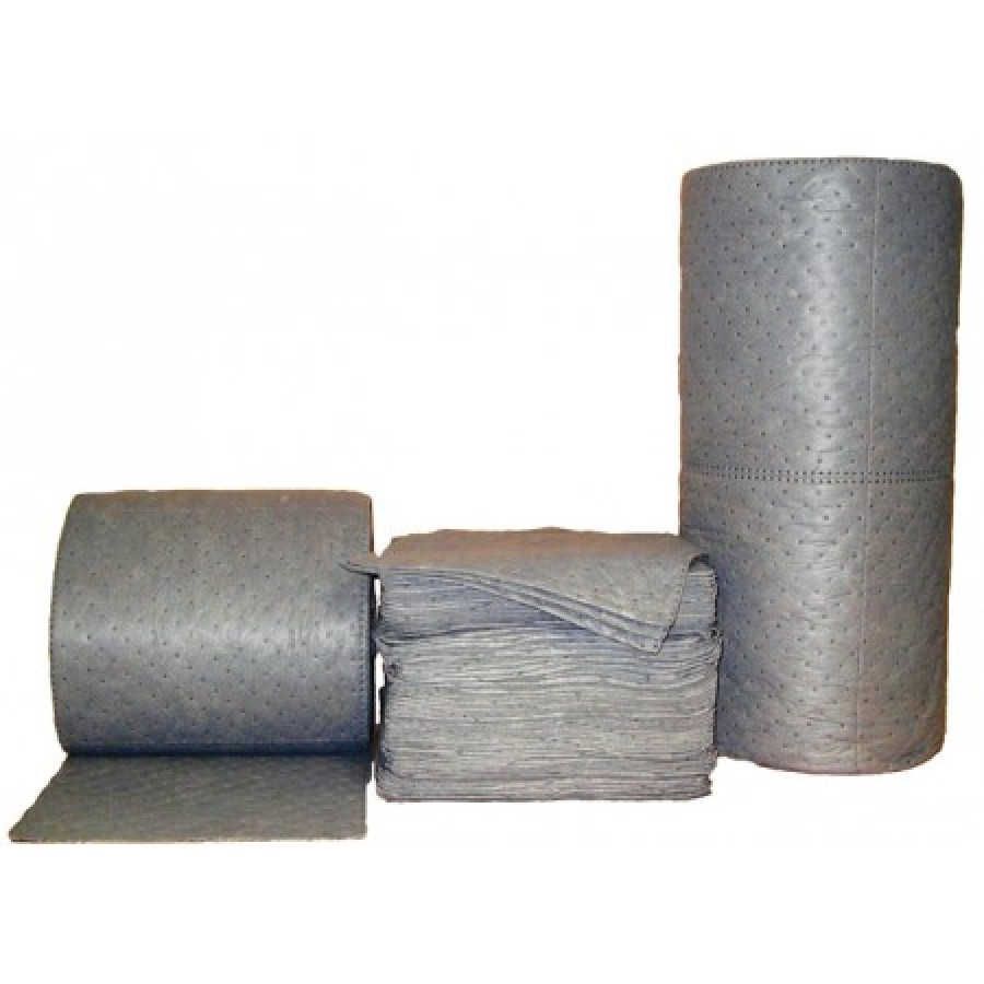 "ABSORBENT ROLL ABSORBENT ROLL - Sonic Bonded Perforated roll 150' X 15""Universal roll:  15? X 150? ("