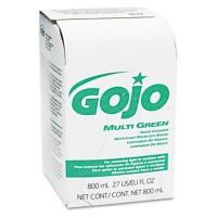 Hand Cleaner Hand Cleaner - GOJO  800-ml Bag-in-Box RefillsCLNR,MLTIGN,800MLMULTI GREEN Hand Cleaner