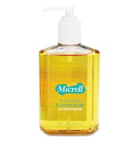 Hand Soap Hand Soap - GOJO  MICRELL  Antibacterial Lotion SoapSOAP,ANTIBCTRL,8OZMICRELL Antibacteria