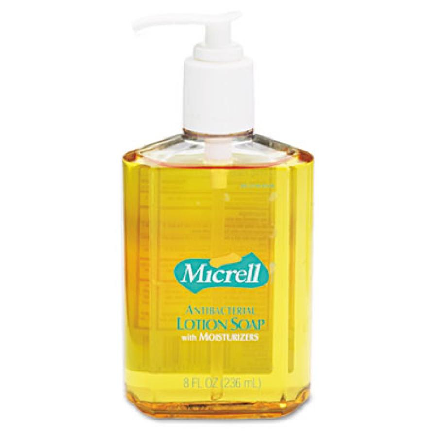 Hand Soap Hand Soap - GOJO  MICRELL  Antibacterial Lotion SoapSOAP,ANTIBCTRL,8OZMICRELL Antibacteria