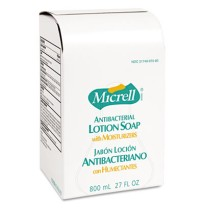 Hand Soap Hand Soap - GOJO  MICRELL  Antibacterial Lotion SoapRFLL,800ML,ANTBACT,LTNMICRELL Antibact