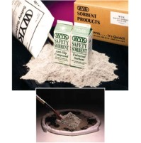 SORBENT POWDER SORBENT POWDER - Anti-Slip Safety Sorbent1/2 Gallon Shaker Carton.  PROVIDING TRACTIO