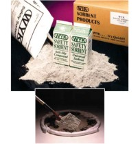 SORBENT POWDER SORBENT POWDER - Anti-Slip Safety Sorbent110 Lbs in a 20 Gal Drum.  PROVIDING TRACTIO
