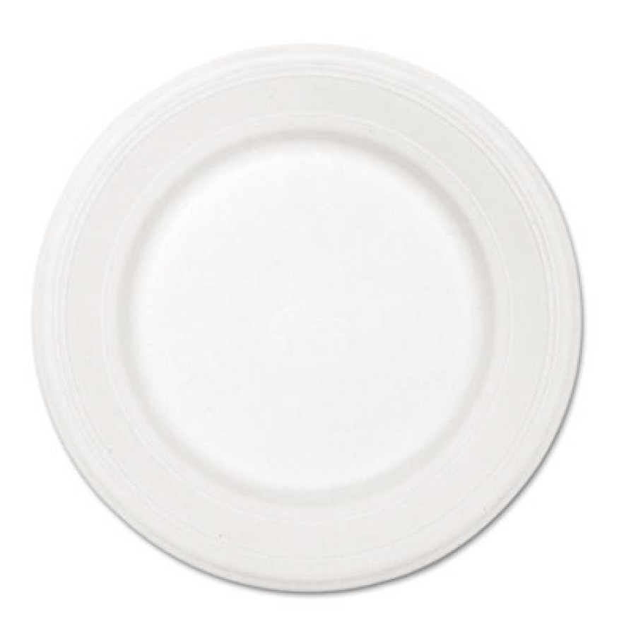 PAPER PLATE | PAPER PLATE | 500/CS - C-CHINET PREM PPR PLT  10.5IN WHI