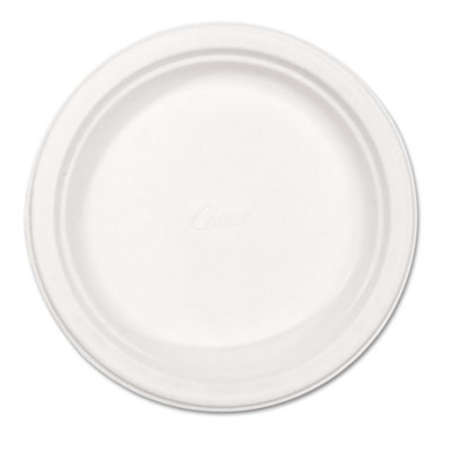 PAPER PLATE | PAPER PLATE | 500/CS - C-CHINET PREM PPR PLT  8.75IN WHI