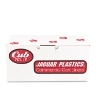 GARBAGE BAGS GARBAGE BAGS - Cub Commercial Low-Density Roll Can Liners, .5 mil, 24 x 32, WhiteJaguar