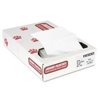 GARBAGE BAG GARBAGE BAG - Industrial Strength Commercial Can Liners, 30 gal, .7 mil, WhiteJaguar Pla