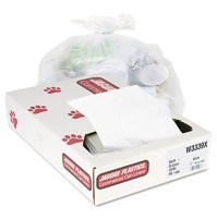 GARBAGE BAG GARBAGE BAG - Industrial Strength Commercial Can Liners, 33 gal, .9mil, WhiteJaguar Plas