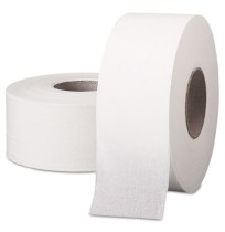 "TOILET PAPER TOILET PAPER - SCOTT Jumbo Roll Bathroom Tissue, 1-Ply, 9"" dia, 2000 ftKIMBERLY-CLARK P"